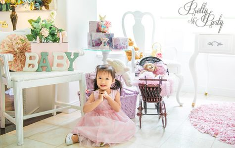 Published on Pretty My Party - Vintage Baby Shower & Birthday Party Ideas