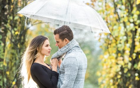 Featured on Crazy Beautiful Wedding - Autumn Engagement at Lafarge Lake | Anita & Max
