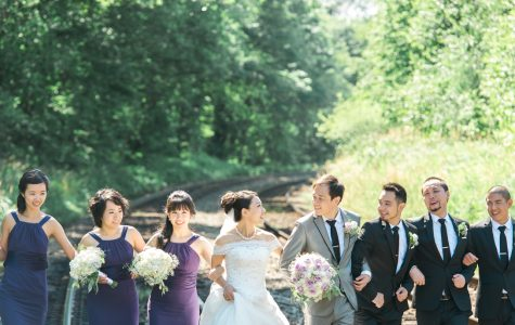 Fun Wedding Session at Burnaby Lake Park | F+S