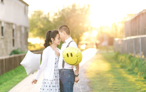 Dyke Trail Sunset Engagement in Richmond | M+A