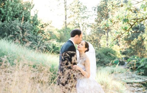 Audrey Hepburn Inspired Wedding at Van Dusen Garden | Laura & Michele