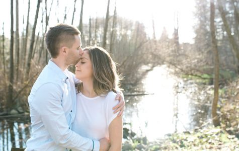 Beautiful Spring Engagement Session at Como Lake Park | Danica & Shayne