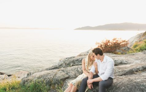 Lighthouse Park Engagement Session | Emma & Lucas