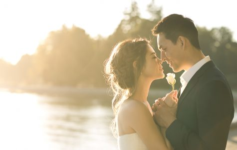 Sunset Engagement Session at Stanley Park | Michelle & Zihan