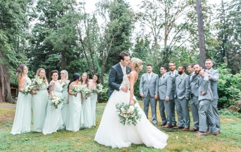 Beautiful Rustic Wedding at SFU Diamond Centre | E+L