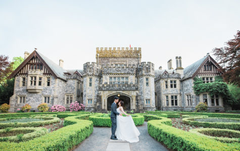 A Beautiful Summer Pre-Wedding Session at Hatley Castle | D+C