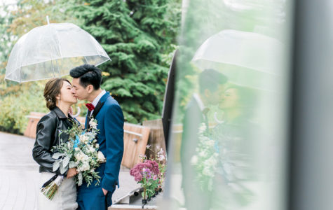 A Beautiful Rainy Day Wedding at Shaughnessy Restaurant | D+C